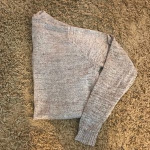 Sweaters - Gold and tan threaded open front sweater